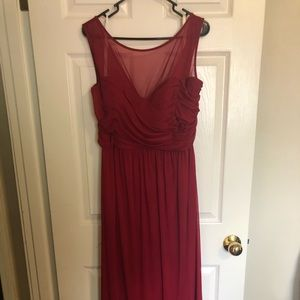 Bridesmaid, formal dress